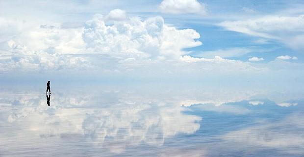 """O salar do Uyuni, paisagem """"insignificante"""" Foto: Creative Commons/Tomas Rawski"""