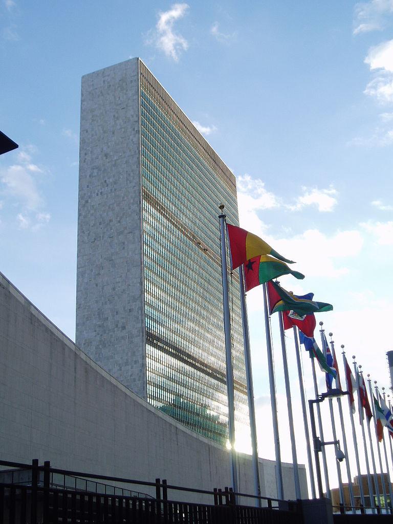 O prédio da ONU em Nova Iorque.  Foto: Steve Cadman