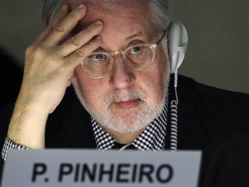 Paulo Sérgio Pinheiro Foto: Denis Balibouse/Reuters