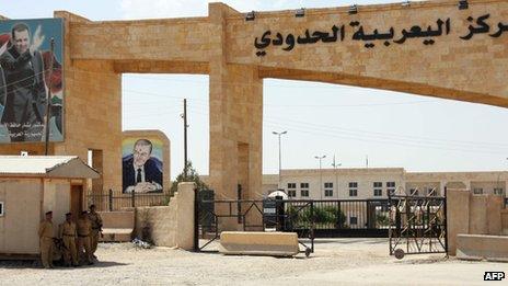 Fronteira entre Síria e Iraque em Yarubiya Foto: AFP