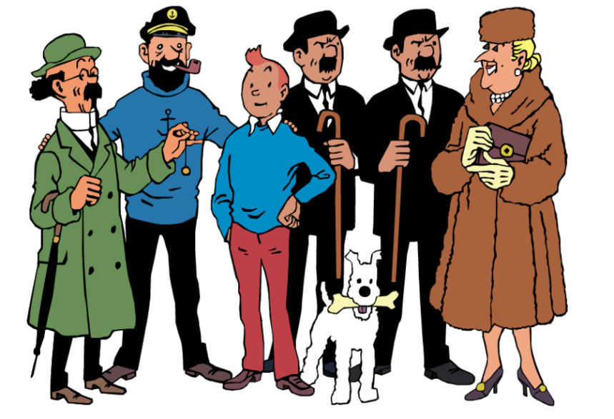 tintin_personagens