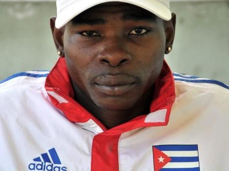 O boxeador cubano Guillermo Rigondeaux