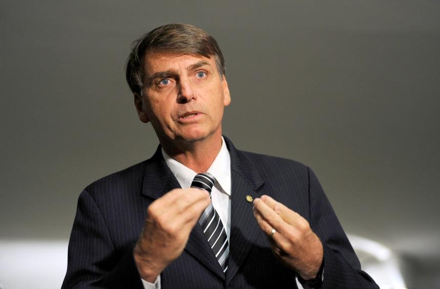 O deputado federal Jair Bolsonaro (PP-RJ).  Foto: Janine Moraes