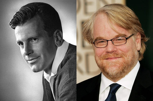 Maximilian Schell e Philip Seymour Hoffman