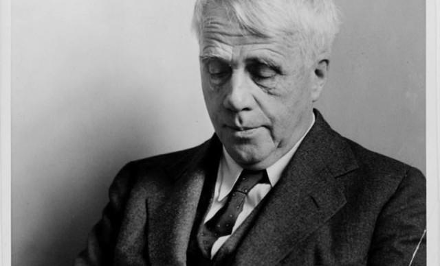 O poeta Robert Frost