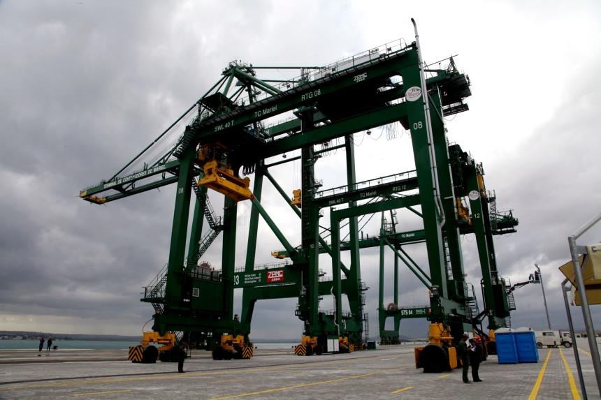 Porto de Mariel, em Cuba Foto:  Ismael Francisco/ Cubadebate