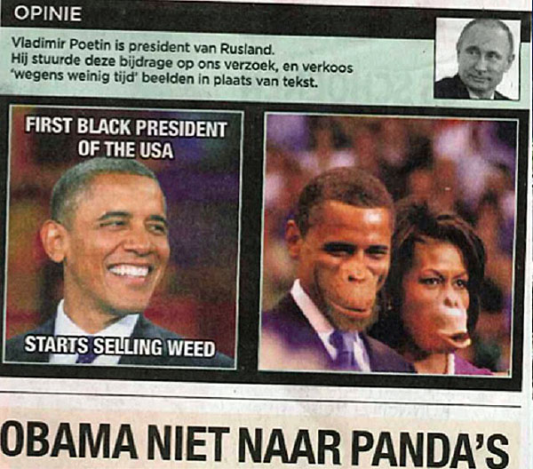 obama-ape-faces-belgium-newspaper-600