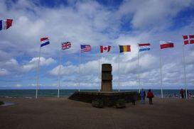 Monumento na praia Juno