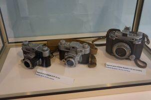 Máquinas fotográficas da época da guerra