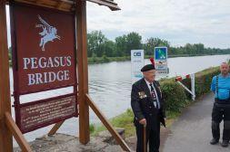 Veterano do ataque na ponte Pégaso