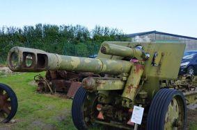 Canhão exposto em St.-Come-du-Mont, no Deadman's Corner