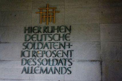 Entrada do Cemitério Memorial dos Soldados Alemães em La Cambe