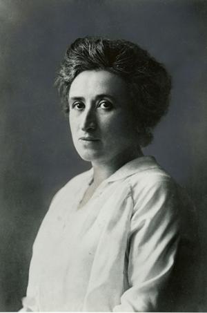 Rosa Luxemburgo, que era descendente de judeus poloneses. Foto: Fundação Rosa Luxemburgo