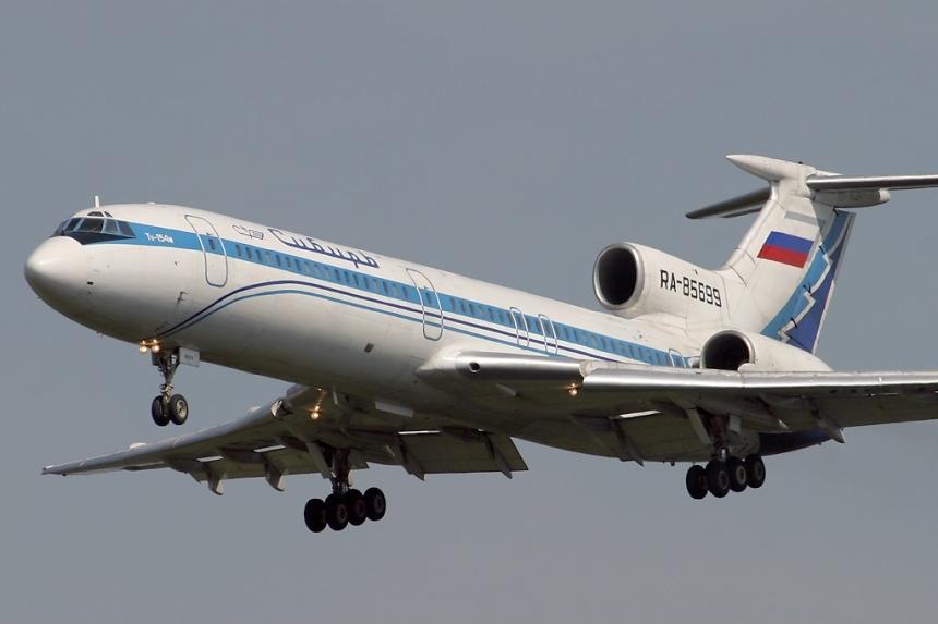 O Tu-154 do vôo 1812