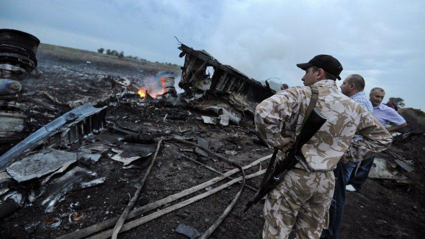 Destroços do vôo MH17 na Ucrânia