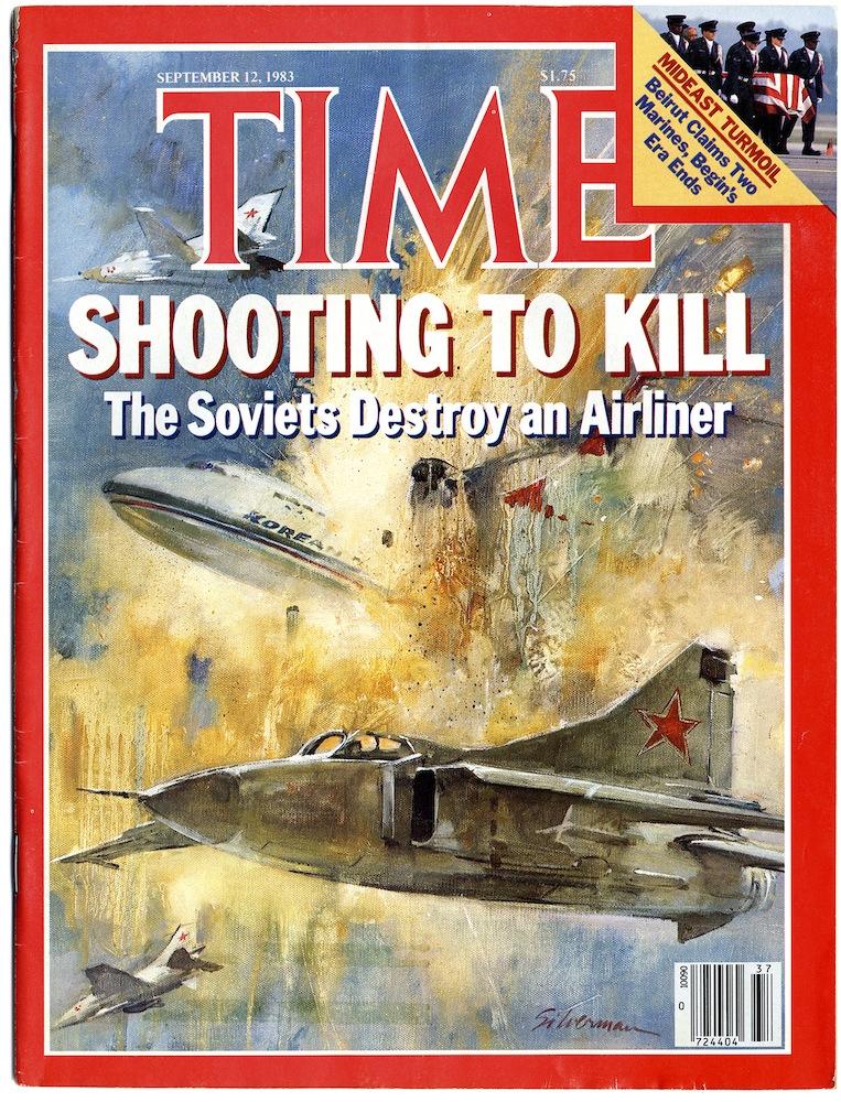 Capa da revista TIME após o episódio