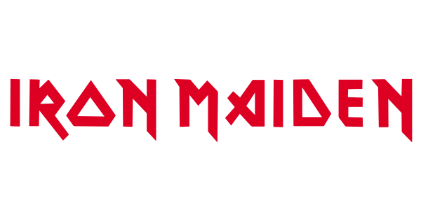 Logo da banda de heavy-metal Iron Maiden.