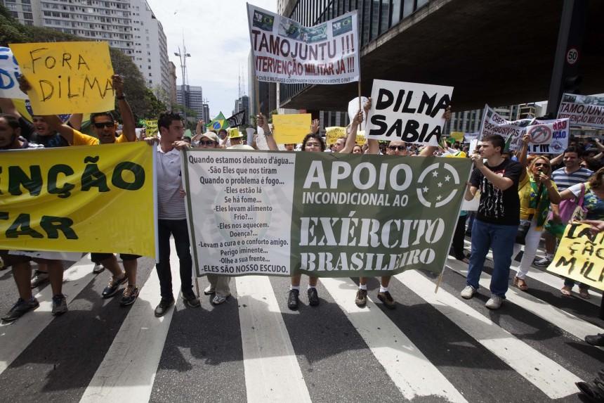 Ato contra Dilma, em SP