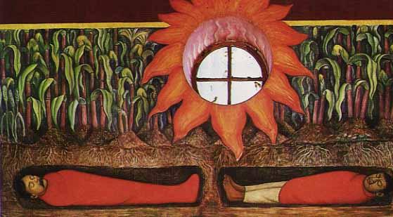 la sangre de los mártires de Diego Rivera