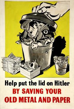 """""""Ajude tampar Hitler"""""""