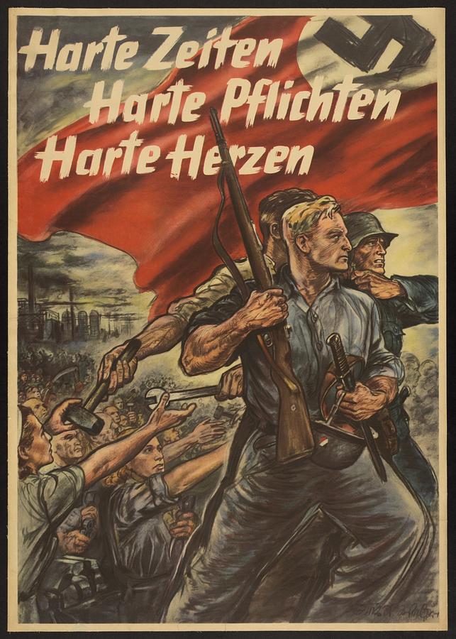 Nazi Propaganda Poster (9)