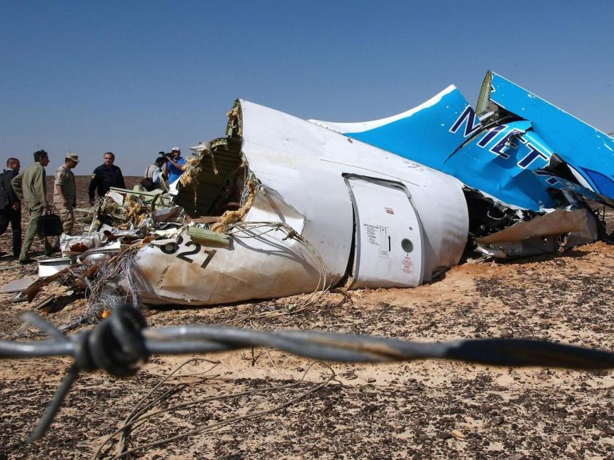 Plane-crash-wreckage