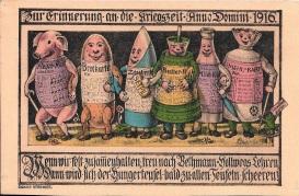 Cartaz alemão que ensina como usar os cartões de racionamento