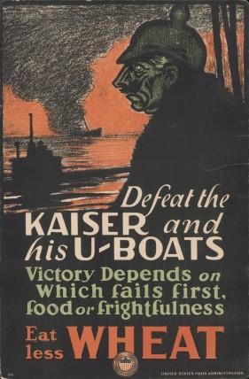 """""""Derrote o Kaiser. Coma menos trigo"""""""