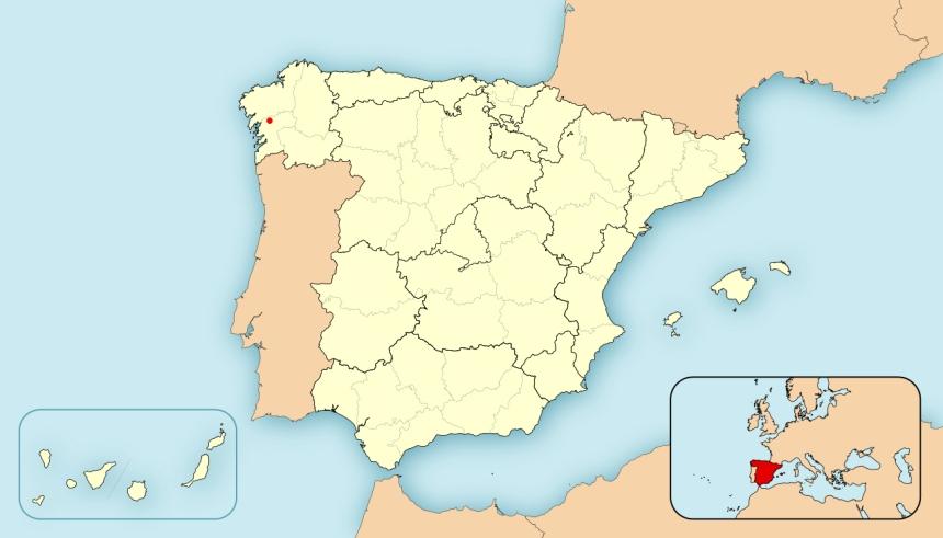Espanha Estrada Galícia